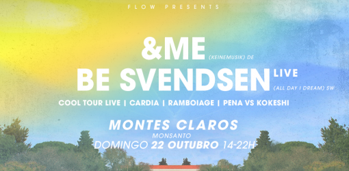 Flow presents &ME, Be Svendsen Live