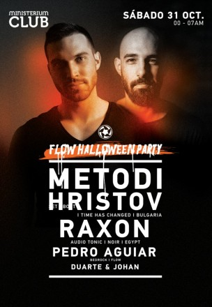 Flow Halloween Party w/ Metodi Hristov/Raxon