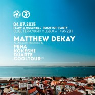 Flow & Musik@ll Rooftop Party com Matthew Dekay